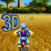 3D motocross trka