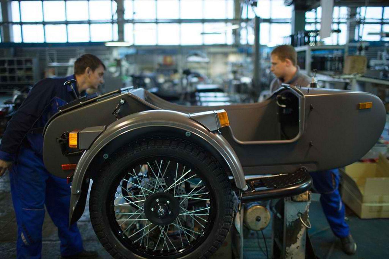 Fabrika motocikala IMZ-Ural