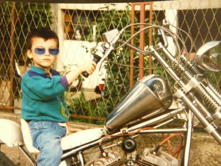 Mali ja, slika pre 14 god. :) - Stefan Marjanovic