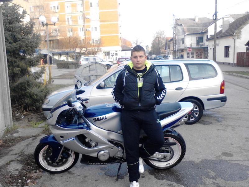 Yamaha Thundercat 600 - Dusan Zec