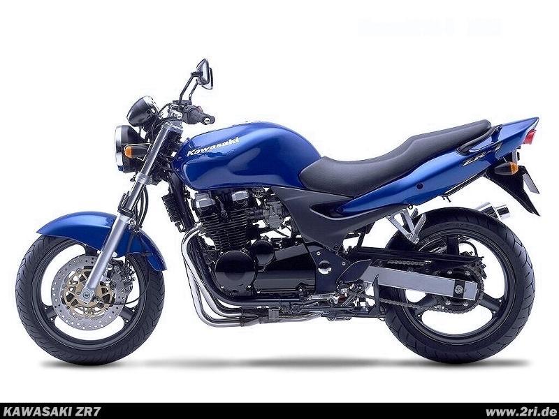 1999 Kawasaki ZR-7 - Moto.ZombDrive.COM