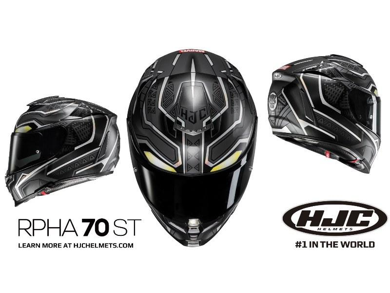 hjc lansirao novu black panther kacigu moto berza. Black Bedroom Furniture Sets. Home Design Ideas
